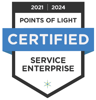 points of light certified service enterprise